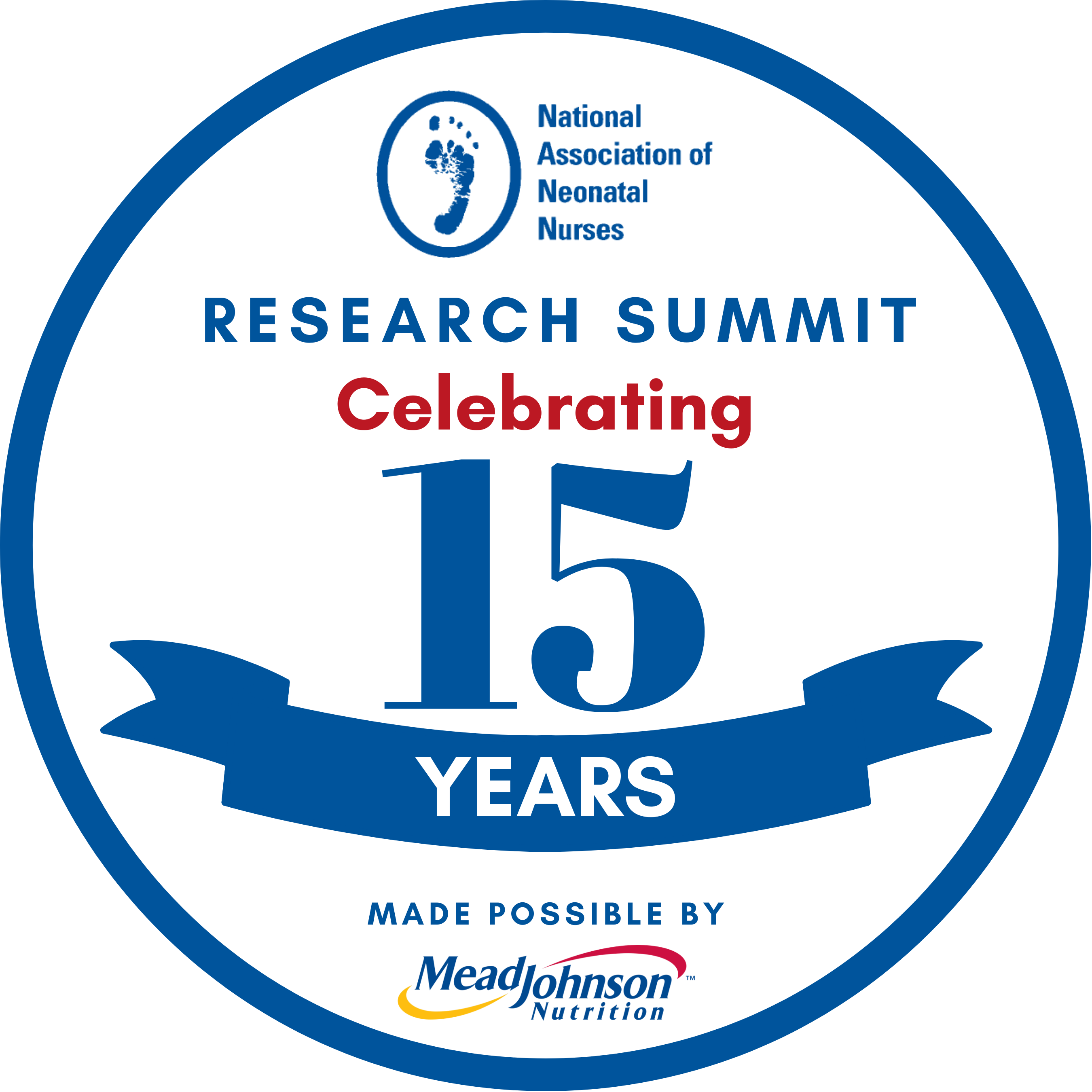 15th Research Summit Anniversary Logo